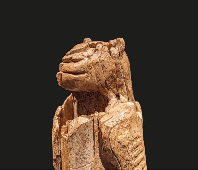 El Hombre león de Ulm, que el historiador del arte Neil MacGregor señala como 'primera prueba de nuestra capacidad de abstracción'