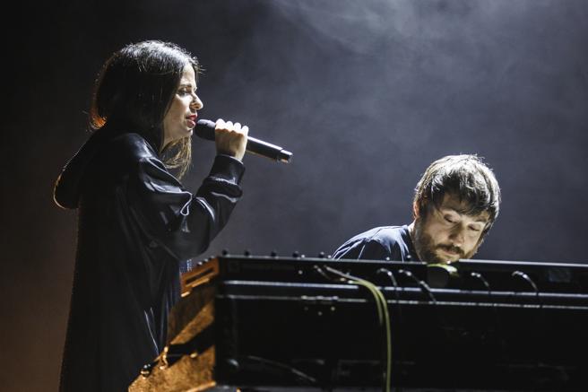 Lina y Raül Refree en una de sus últimas actuaciones en el Mercat de Música Viva de Vic