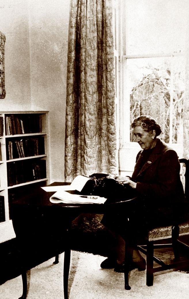 Agatha Christie en una imagen de 1946.