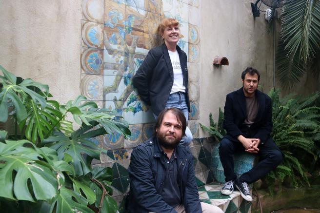 Ricard Planas, Eugènia Broggi y Ramon Mas, creadores del sello Les Altres Herbes