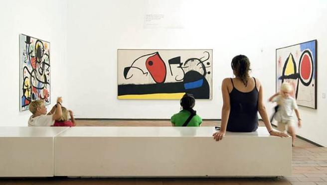 2x1 en exposiciones temporales y 20% de descuento en la entrada general de la Fundació Joan Miró
