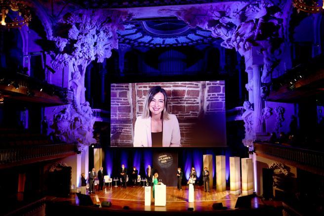La ceremonia del Premio Planeta Eva García Sáenz de Urturi