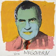 Andy Warhol. «Vote McGovern», 1972