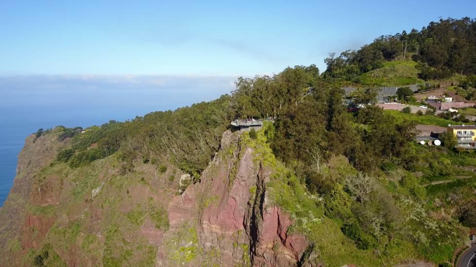 Mirador del acantilado de Cabo Girâo