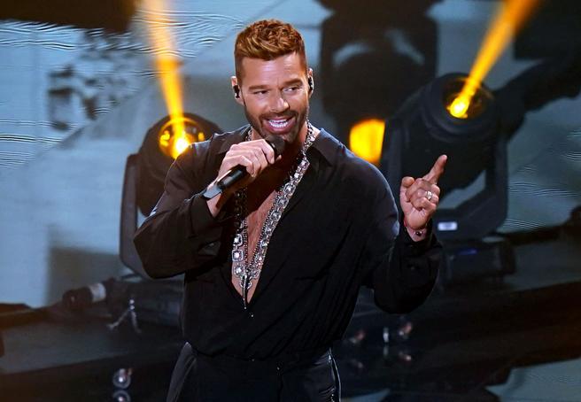 Ricky Martin, durante la gala de los Latin Grammy