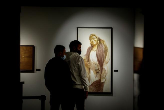 La exposición Las Guardianas de Tombuctú, de la pintora madrileña Irene López de Castro
