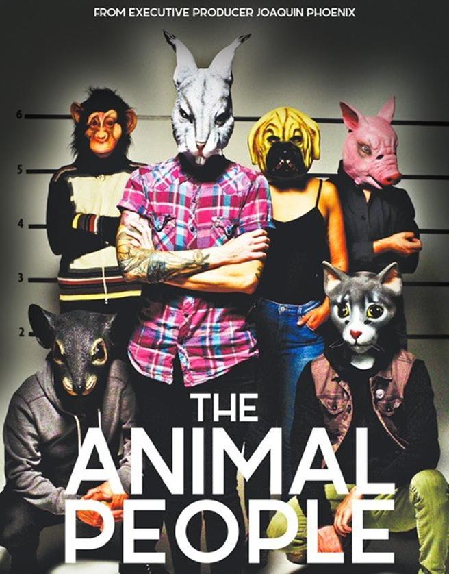 Cartel de 'The animal people', producida por Joaquin Phoenix
