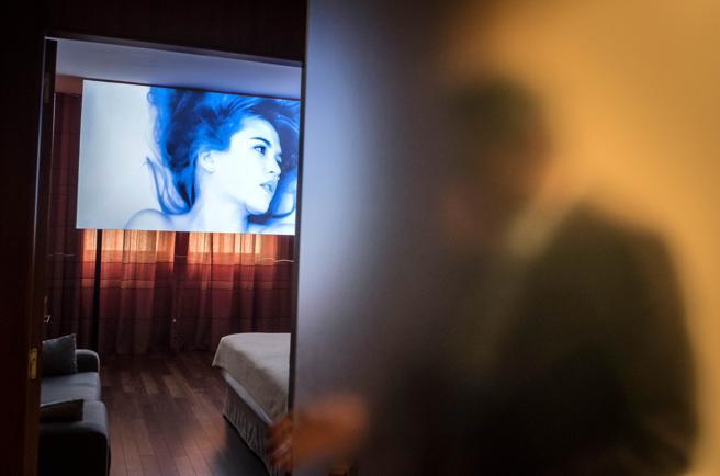 A lo largo de sus 17 años de vida, Loop ha transformado las habitaciones de diferentes hoteles en salas de exhibición  de vídeos