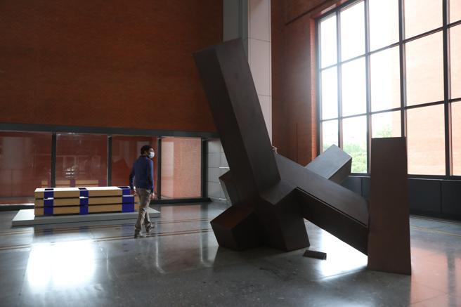 'Mi última escultura como elogio del descontento', de Jorge Oteiza, en la colección del Banco de España