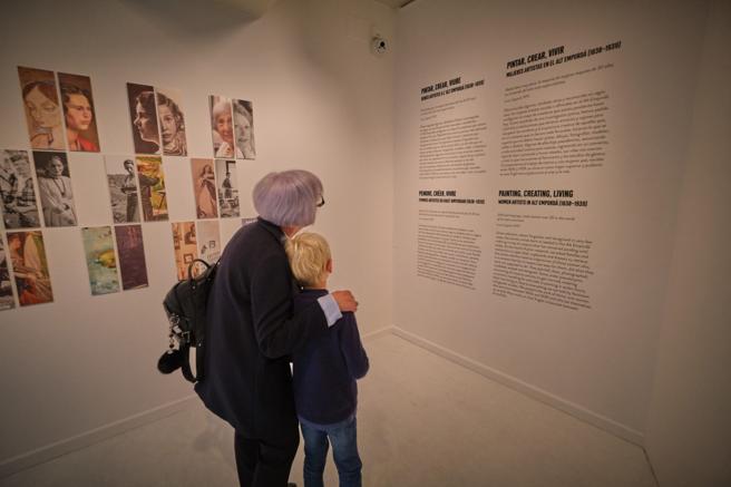 Visita 'Entre muses i artistes'