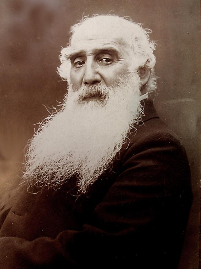 Camille Pissarro en torno al año 1900.