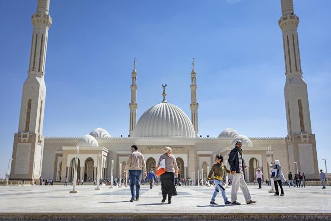 La Gran Mezquita Al Fatah al Alim, el primer edificio finalizado