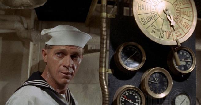 McQueen en El Yang-tsé en llamas (1966)