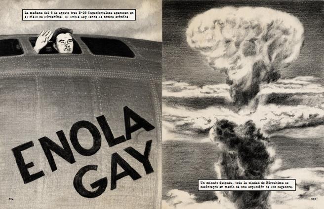 Una imagen de la adaptación gráfica de 'La Segunda Guerra Mundial' de Antony Beevor